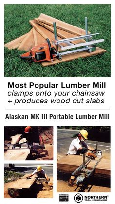Our most popular chainsaw mill lineup!