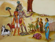 srimadbhagavatham-http://bhagavatham.blogspot.ae/ Grace shown to the brahmin matrons.