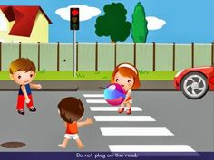 Big mistake if you do this! Road Safety Poster, Safety Posters, Safety Rules, Home Safety, Transportation Theme, Painting Competition, Learning Arabic, Construction Paper, Preschool Worksheets