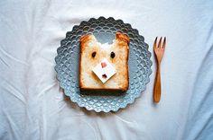 Teddy Bear Toast | 33 Amazing Plates OfFood