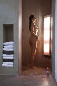 badkamer | Sunshower Combi in moderne inloopdouche zonder tegels. Door jellema