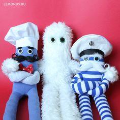 Softies, Plushies, Cute Plush, Handmade Toys, Stuffed Animals, Seafood, Doodles, Teddy Bear, Kawaii