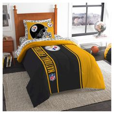 Northwest Pittsburgh Steelers Twin Bed in a Bag