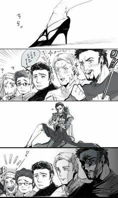 CASAIS Yaoi (IMAGEMS) - Thorki 5 - Page 2 - Wattpad Marvel Jokes, Marvel Dc Comics, Marvel Avengers, Avengers Cartoon, Marvel Fan, Spideypool, Dc Memes, Funny Memes, Funniest Memes