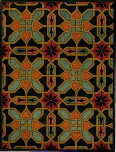 Block Ideas for Preschoolers | Design from decorative painting on Bukhara architacture.