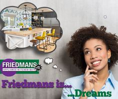 Turn your dream kitchen into reality. Come and visit Friedmans Appliance Center in #LongBeach. #Appliances www.friedmansappliancecenter.com #Kitchen #DreamKitchen