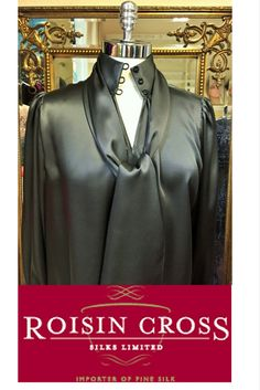 Dressmaking service for ladies day wear and occasional wear dresses and blouses at Roisin Cross Silks, Dublin Call us on 1 2846282 Day Dresses, Summer Dresses, Dress Making Patterns, Ladies Day, Silk Satin, Dressmaking, Charcoal, Vogue, Blouse