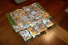 Cream Cheese Cresent Roll Bars- this womans whole site is great
