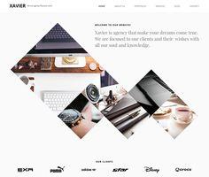 Xavier - Portfolio and Agency WordPress theme #html5wordpressthemes #responsivedesign #UIdesign #UIUX