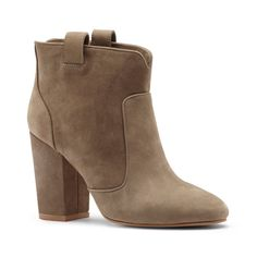 Nwt Livvy Suede Ankle Boots - 37.5 (7/7.5 Us)