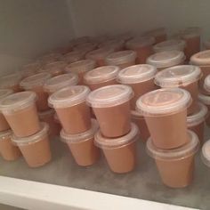 RumChata Pudding Shots @keyingredient #chocolate