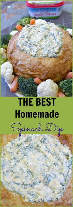 The Best Spinach Dip Recipe with Fresh IngredientsYou can find Spinach dip and more on our website.The Best Spinach Dip Recipe with Fresh Ingredients Fresh Spinach Dip, Homemade Spinach Dip, Baked Spinach Dip, Fresh Spinach Recipes, Recipe For Spinach Dip, Vegetable Dip Recipes, Homemade Vegetable Dip Recipe, Spinach Dip Recipe Easy, Cold Spinach Artichoke Dip