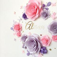 Paper Flower Backdrop #10