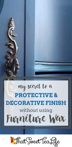 How to Paint Furniture Well: Your Ultimate Guide Diy Furniture Wax, Waxing Painted Furniture, Chalk Paint Furniture, Diy Furniture Projects, Colorful Furniture, Repurposed Furniture, Furniture Making, Furniture Makeover, Furniture Refinishing