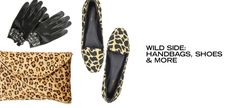 Wild Side: Handbags, Shoes & More - http://fancycentral.com/580/wild-side-handbags-shoes-more/