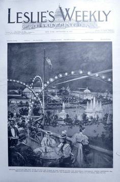 COTTON STATES & INTERNATIONAL EXPOSITION ATLANTA, GA  Indepth! 1895 NEWSPAPER Leslie's Weekly