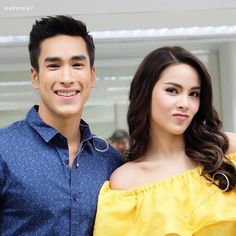 Nadech Kugimiya - Yaya Urassaya Sperbund Mark Prin, Asian Makeup, Cute Girl Face, Thai Drama, Sweet Couple, Best Actor, Traditional Dresses, Harley Quinn, Cute Couples