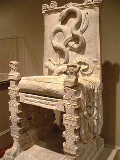 Roman Throne 1st century CE