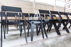 Crux Stool Black | Bram Oosterhuis' Studio Conference Room, Stool, Furniture Design, Studio, Table, Black, Home Decor, Decoration Home, Black People