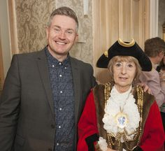 Our event manager David Hill and the Mayor of Brighton & Hove Councillor Lynda Hyde David Hill, Brighton And Hove, Event Management, Hyde, Product Launch