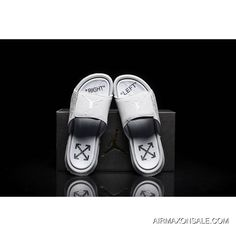 8624cdffdbc Off-White X Jordan Hydro 6 Sandals Slippers 881473-881474-004 Best