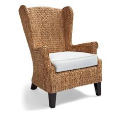 Our Exclusive Santino Wing Chair Is An Unconventional Update To The Classic  High Back Wing