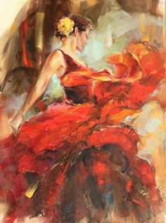 Romantic Figurative Paintings by Anna Razumovskaya. Inspired by the graceful elegance of the female form, at turns, classically alluring, demure and provocative. Her art has a pervasive sense of 'romanticism', and the passionate and dynamic application of paint on the canvas.