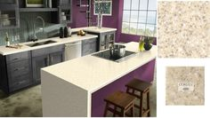 Sahara Corian on sale at Group B pricing thru December 2015 Custom Countertops, Kitchen Countertops, Kitchen Cabinets, Corian Colors, Lafayette Indiana, My House, December, Group, Table