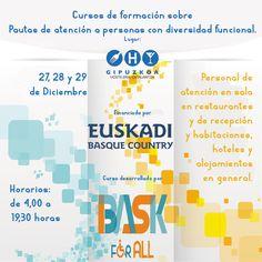 Imprescindible para profesionales del #hospedaje  Pautas de atención a personas con diversidad funcional en Asociación de Empresarios de Hostelería de Gipuzkoa por Bask For All  Más info, pinchando la imagen. #Hosteleria #Gipuzkoa #Klitaea