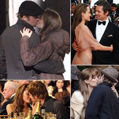 Brad Pitt and Angelina Jolie's Best PDA Moments | Pictures