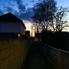 #London #Dusk #Epsom