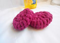 Kitchen Scrubbies Washable  Magenta Better then by Merchant3114 Use coupon code: PIN10 for 10% off purchase