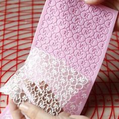 Quality silicone lace mold fondant cake decorating tool forma de silicone cake mold baking mats forma de bolo ferramenta with free worldwide shipping on AliExpress Mobile Sugar Veil, Sugar Lace, Cake Decorating Techniques, Cake Decorating Tutorials, Fondant Molds, Cake Mold, Edible Lace, Wedding Cake Decorations, Baking Accessories