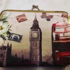Ρομαντικά πορτοφολάκια με κούμπωμα που σε ταξιδεύουν Big Ben, Travel, Viajes, Destinations, Traveling, Trips