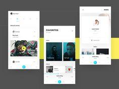 App - Music tech by Andrew Chraniotis