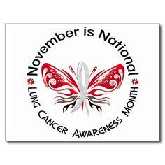 November - Lung Cancer awareness month