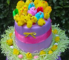 Easter Hat Parade Hat Ideas: Chicks in a Nest Hat