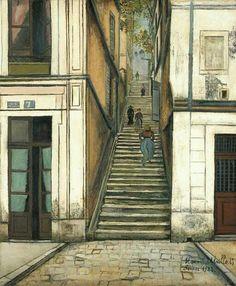 Le Passage Cottin. Montmartre. 1922