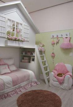 Diy Stuff Little Girl Bedrooms Baby Girls Room Loft