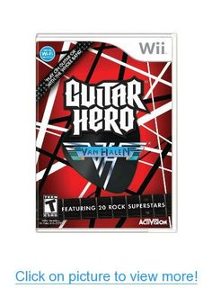 Guitar Hero: Van Halen (Nintendo Wii, - European Version for sale online Alex Van Halen, Eddie Van Halen, Wolfgang Van Halen, Guitar Hero, Tenacious D, David Lee Roth, Weezer, Wii Games, Judas Priest