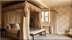 szép hálószobák - Luxuslakások, házak 6 Curtains, Bed, Furniture, Home Decor, France, Insulated Curtains, Homemade Home Decor, Blinds, Stream Bed