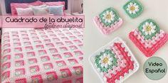Cuadrado de la abuelita tejido en diagonal – Video español