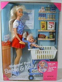 Shoppin' Fun Barbie & Kelly... this was my favorite