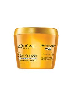 How to get gorgeous while you sleep: The sulfate-free L'oréal Paris Oleotherapy Deep Recovery Mask moisturizes with a blend of argan, chamomile, gardenia, lotus, rose, and flaxseed oils