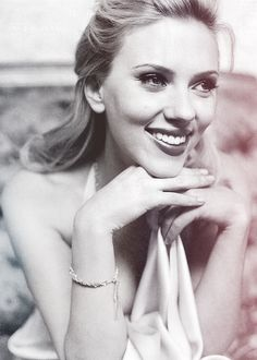 Scarlett Johansson. Those lips and cheek bones and other voluptuous assets. Beauty.