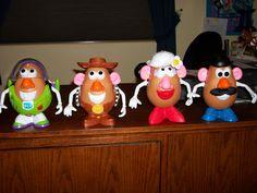 Toy Story Potato Heads