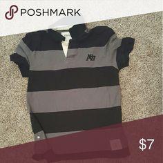 Mens short sleeve Black men's short sleeve medium Aeropostale Shirts Tees - Short Sleeve