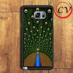 Peacock Samsung Galaxy Note 5 Case