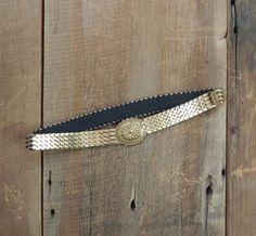 Gold Vintage Waist Belt / Bohemian Belt / by littleedenvintage, $14.00