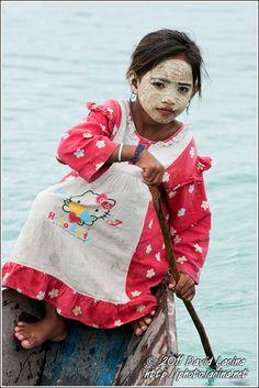 Bajau Laut (Sea Gypsies) Girl
